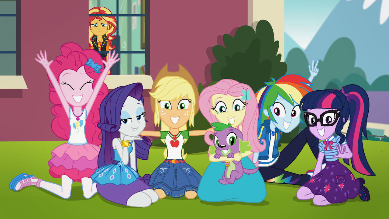 My Little Pony Equestria Girls Forgotten Friendship  Netflix-4282